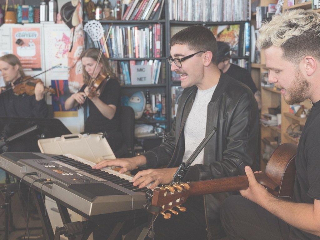 Para entender mejor el regreso de alt-J hay que verlos en el Tiny Desk Concert