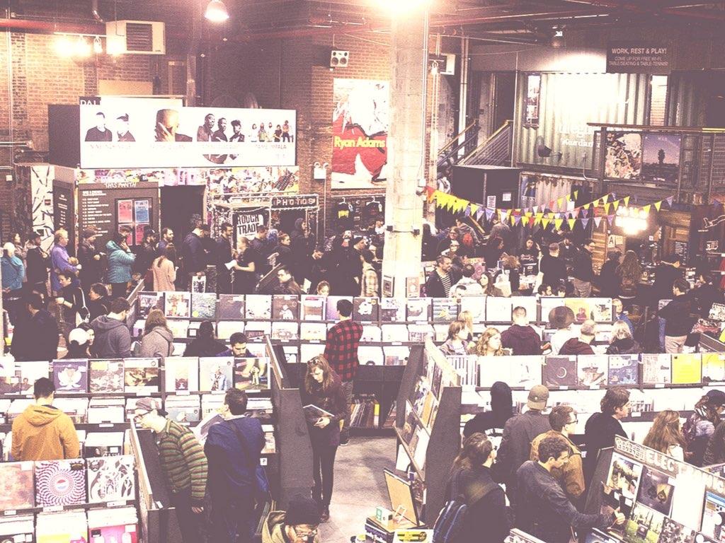 Día internacional de la tienda de discos