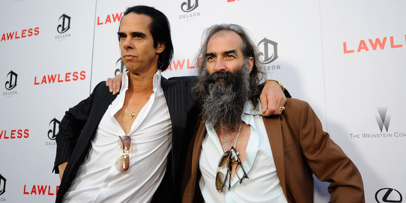"Nick Cave y Warren Ellis presentan la banda sonora de ""War Machine"""