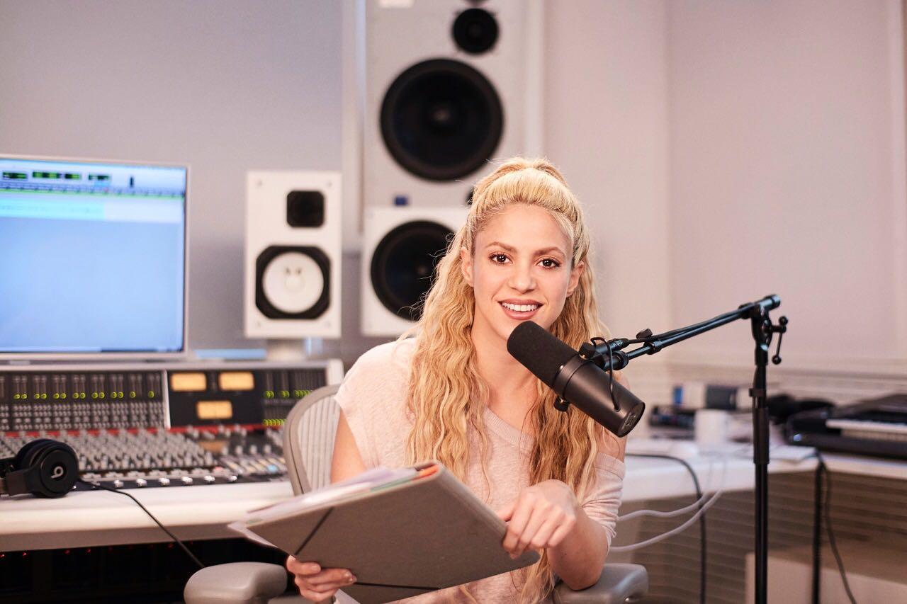 Shakira, la primera anfitriona latina de Beats 1 Radio