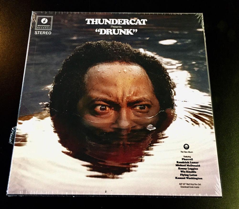 "El vinilo de ""Drunk"" de Thundercat"