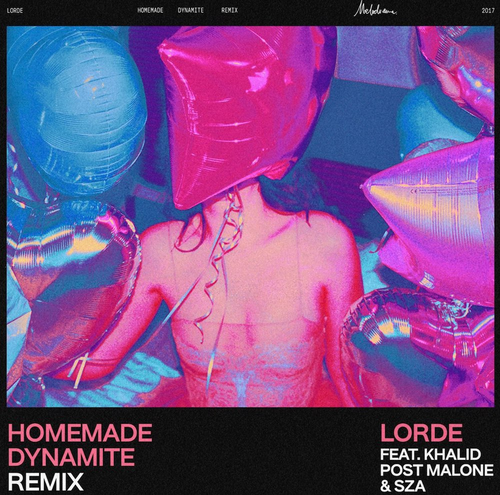 Lorde – Homemade Dynamite (ft. Khalid, Post Malone & SZA) Remix