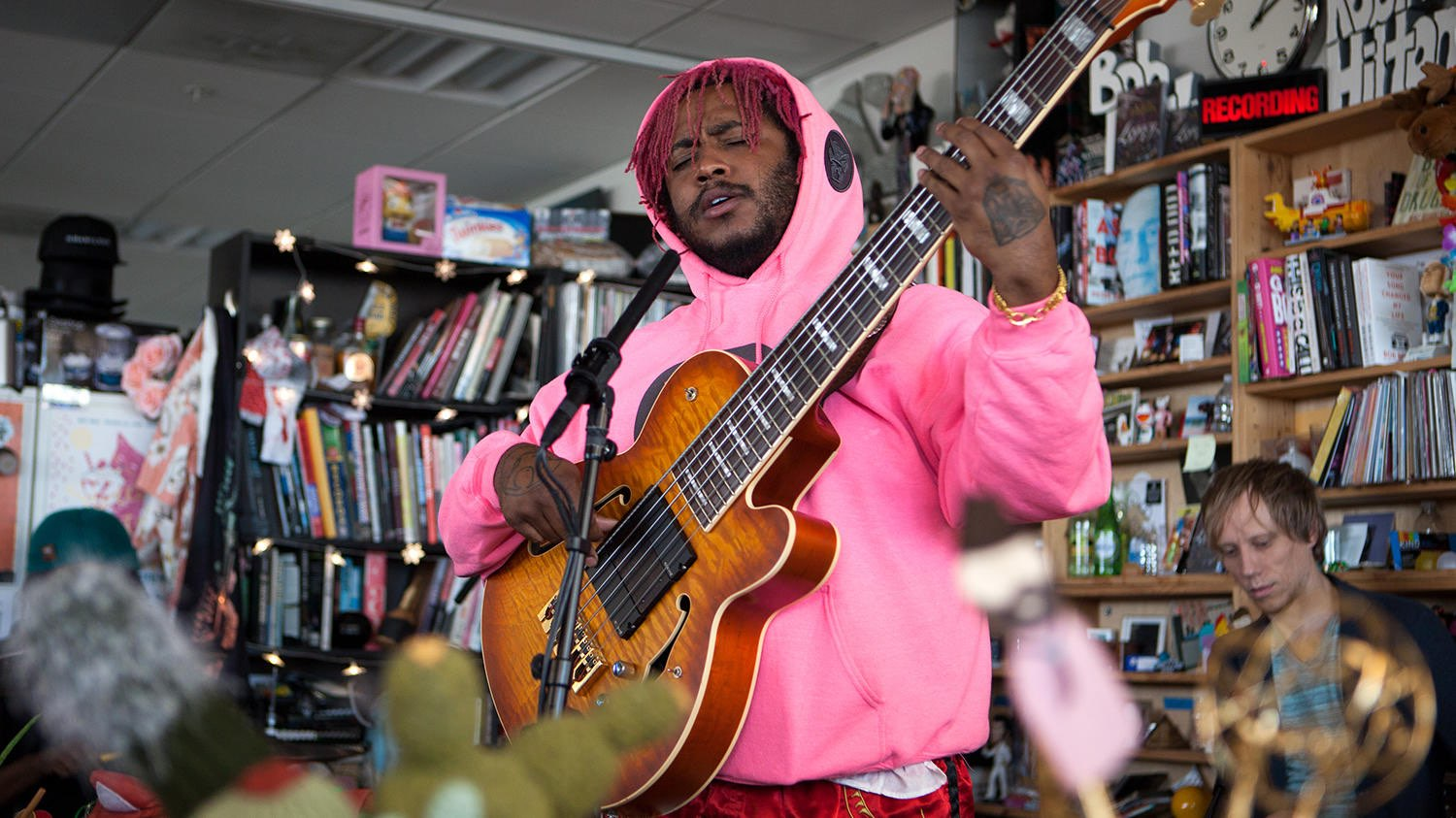 Thundercat en el Tiny Desk Concert