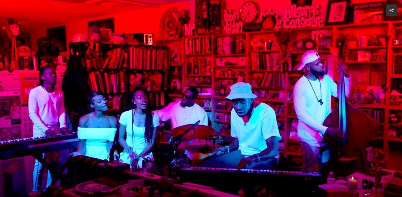 Tyler, The Creator transforma el Tiny Desk Concert
